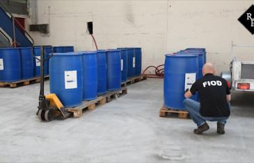 8800 liter formamide gevonden in loods Groenstraat Tilburg