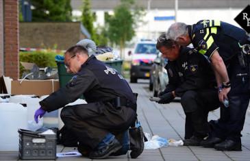 Politie en LFO vinden 32 vaten drugsafval in garagebox Tilburg