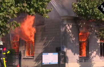 Uitslaande brand monumentaal pand Grotestraat Waalwijk