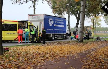 Twee jonge meisjes op de fiets aangereden door vrachtwagen Haverlij Den Bosch