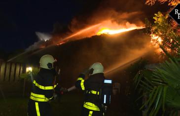 Uitslaande brand fabriekshal Hoofdstraat Kaatsheuvel
