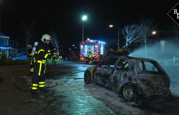 Veen begint maand december weer met traditionele autobrand