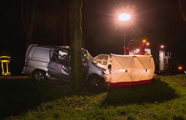 Dodelijk ongeval 's-Gravenmoerseweg Waspik