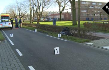 Fietser geschept door automobilist Kooikersweg Den Bosch