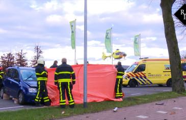 Automobiliste gereanimeerd na ongeluk Eindsestraat Dongen