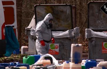 112 vaten met drugsafval gevonden Putvenweg Chaam