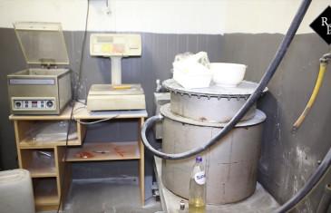 MDMA-lab aangetroffen in garagebedrijf aan de Industrieweg Moergestel