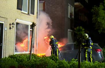 Autobrand Anjerstraat Dongen
