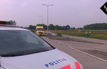 Dodelijk ongeval motor – snorscooter Langenbergseweg N260 Gilze