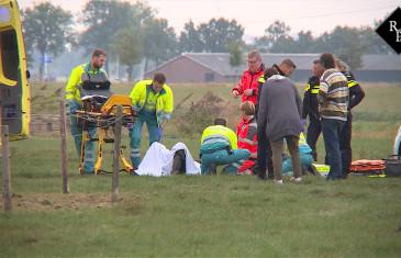 Boer zwaargewond na aanval stier Bokhovenseweg Hedikhuizen
