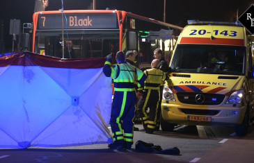 Dodelijk ongeval Bredaseweg Tilburg, dader rijdt door