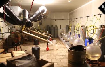 Groot amfetaminelab in loods aan De Hoeven in Haarsteeg