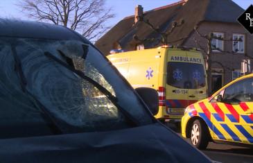 Fietser zwaargewond bij ongeval met bestelauto Lipsstraat Drunen