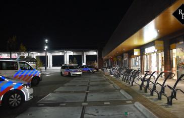 Overvallers roven mobiele pinautomaat leeg bij Jumbo Aabe-straat Tilburg