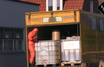 Duitse vrachtwagen met 7000 liter drugsafval gedumpt in woonwijk Kaatsheuvel