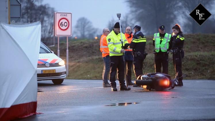 Dodelijk ongeval 17-jarige jongen Blankertseweg Geldermalsen