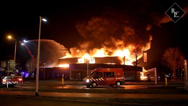 Toekomstige moskee Culemborg gaat in vlammen op