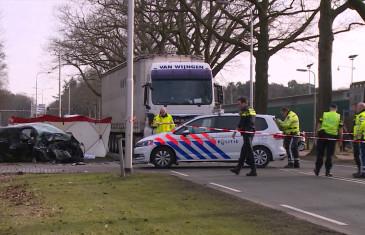 Dodelijk ongeval auto – vrachtauto Dongenseweg Tilburg