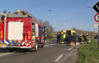 Automobilist gewond bij ongeluk op N267 bij Heesbeen