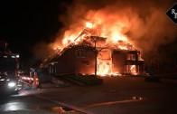 Zeer grote brand legt restaurant Etenstijd Tilburg in de as