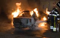 Autobranden Parklaan & Da Costastraat Vlijmen