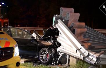 Twee gewonden bij ernstig ongeval A58 Moergestel