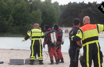 14-jarige jongen verdronken in recreatieplas 't Zand Alphen