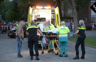 Man zwaargewond tijdens politieachtervolging Rossinistraat Tilburg