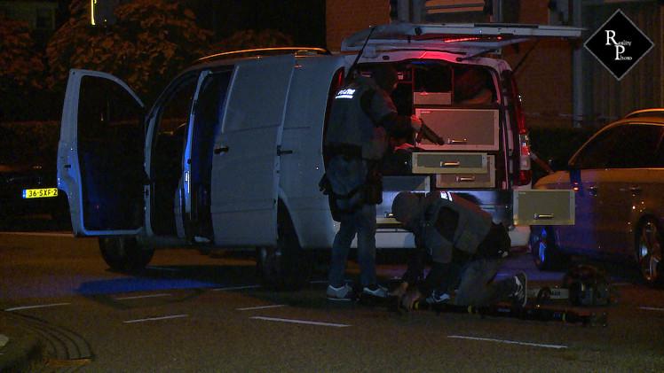 Arrestatieteam houdt verwarde man aan Stationsstraat Rijen