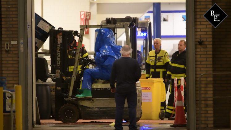 Gewonde bij ongeval geurstoffenfabrikant IFF in Tilburg