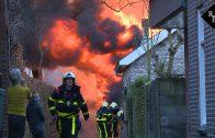 Schuurbrand Waalwijk overgeslagen op bakkerij van Beijnen