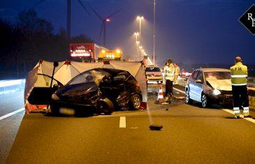 60-jarige man uit Eindhoven omgekomen bij ongeluk A58