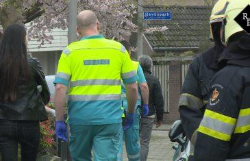 Hulpdiensten massaal aanwezig voor gaslek in woning