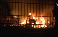 Bakwagen in brand achter pand Wapenhandelaar Jan B.