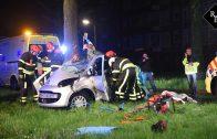 Dode bij ongeval op Rueckertbaan Tilburg