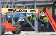 Man zwaargewond bij arbeidsongeval Balkweg Den Bosch