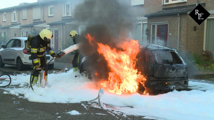 Autobrand Beneluxlaan Vlijmen