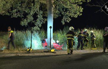 21-jarige komt om bij eenzijdig ongeval Vliedbergweg Vlijmen
