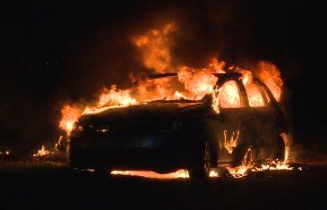 Autobrand Overstortweg Waalwijk