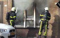 Uitslaande woningbrand Generaal Kockstraat Tilburg