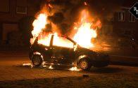 Autobrand Prinses Beatrixstraat Drunen