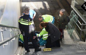 Glasplaat valt op hoofd van reiziger bij station Oisterwijk