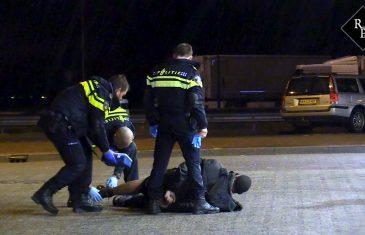 Politie schiet op woningovervallers Zaltbommel