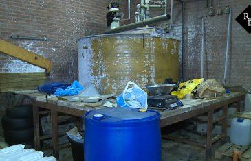 'Levensgevaarlijk' drugslab gevonden midden in woonwijk