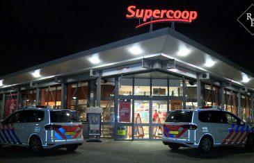 Man overvalt supermarkt Coop in Den Bosch