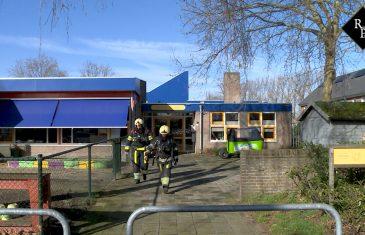 Brand in toiletten Kindcentrum Wereldwijs Beukstraat Drunen