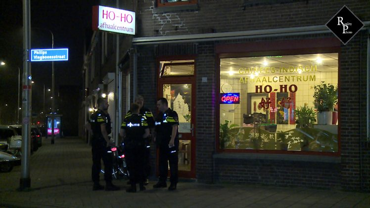 Gewapende overval op Chinees afhaalcentrum Ho-Ho in Tilburg