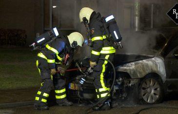 Autobrand Beethovenlaan Waalwijk