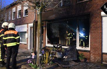 Uitslaande woningbrand Brasemstraat Tilburg