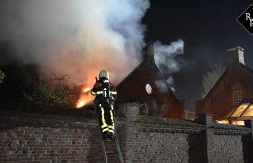 Uitslaande brand in wellnesshoeve Pura Suerte in Udenhout